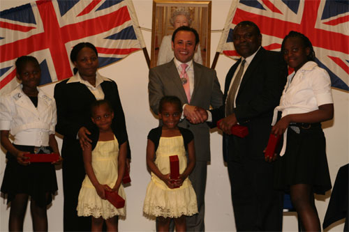 Cllr Wellbelove first citizenship ceremony