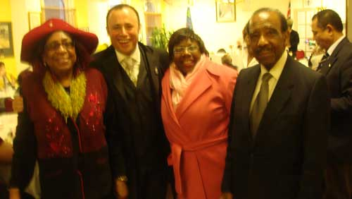 West Indian Ex-Servicesmen / Women's Association Pensioners Christmas Dinner 2008