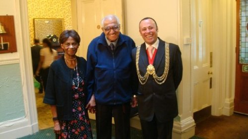 Mayor of Lambeth at Streatham Darby and Joan Club